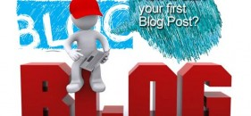 How to write your first blog post