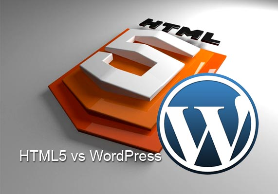 HTML5 vs WordPress